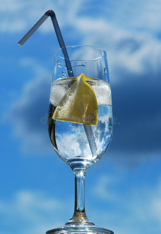 Download Glass of mineral water stock image. Image of mineral - 28399709