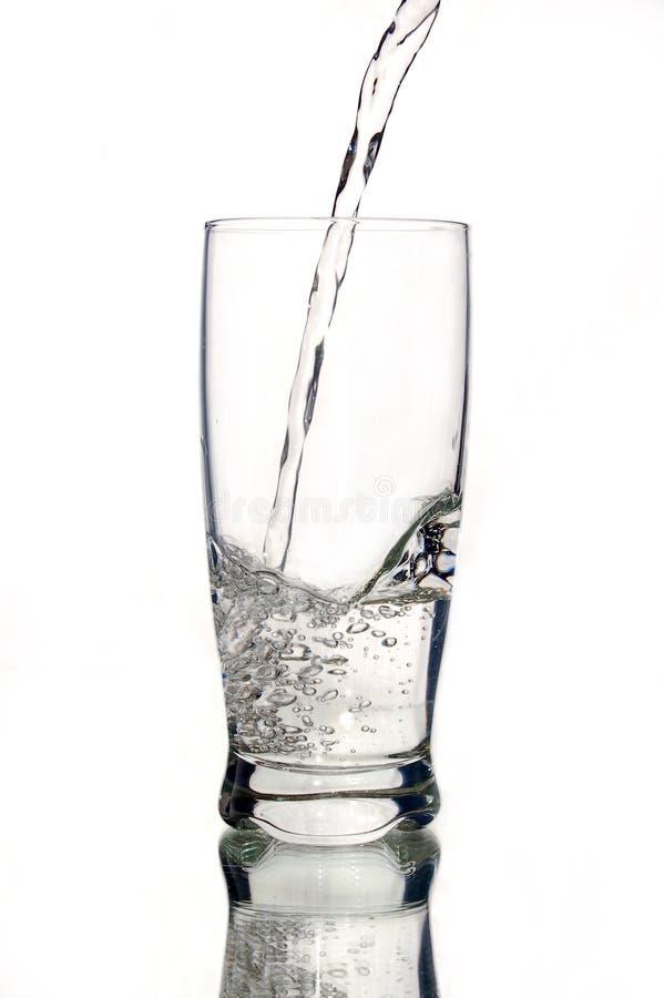 glass mineralvatten arkivbilder