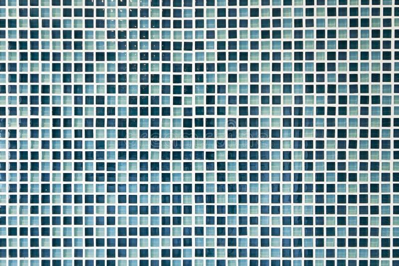 Glass mosaic tiles royalty free stock photo