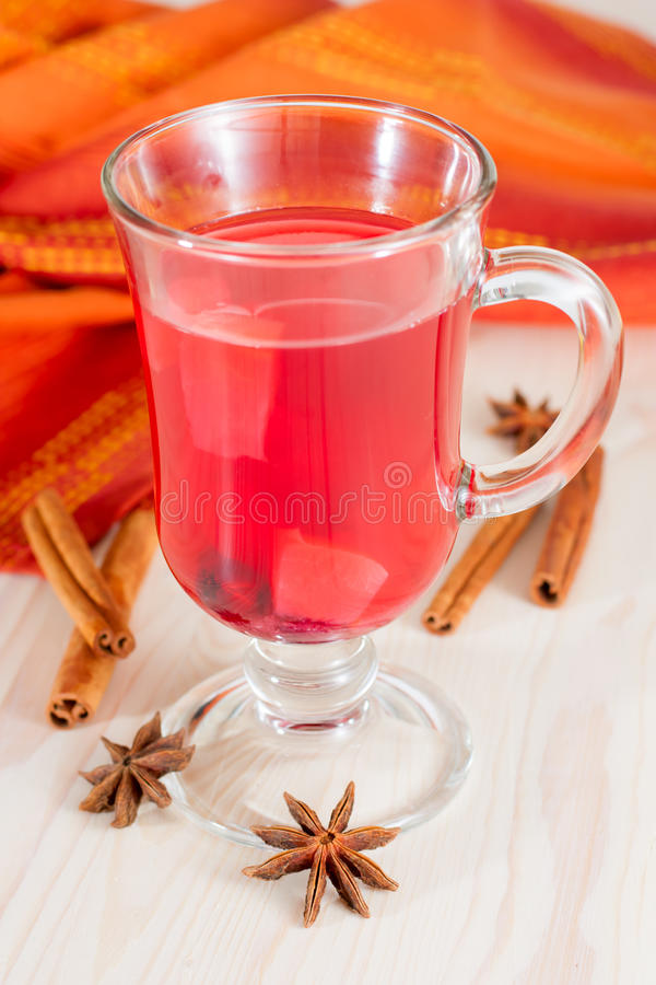 Download Glass of mulled wine stock image. Image of liquid, drinks - 34127021
