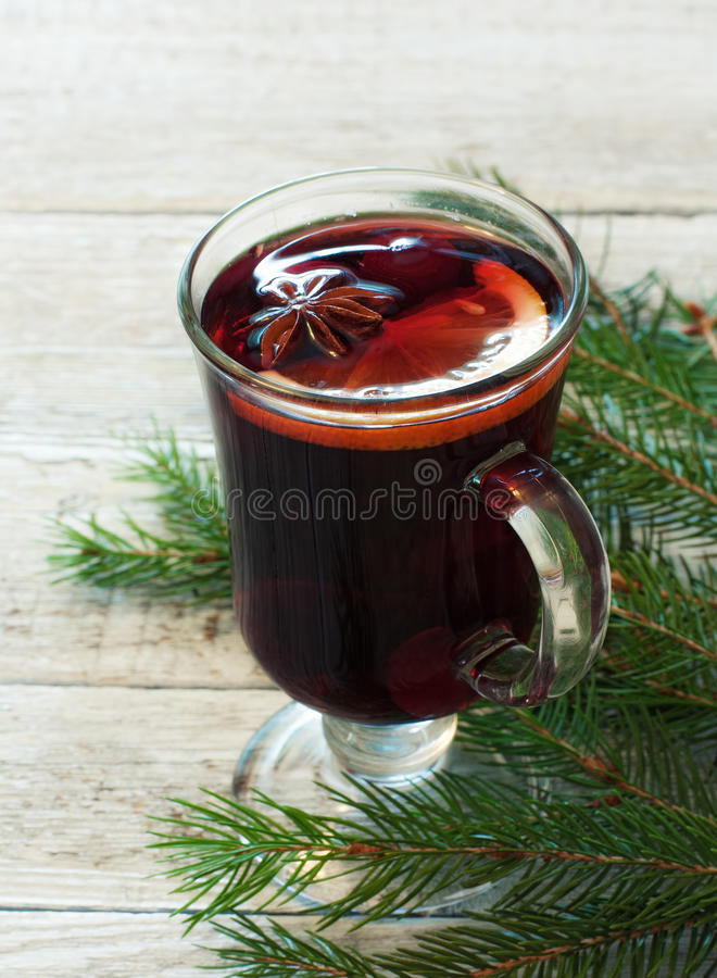 Download Glass Of Mulled Wine Royalty Free Stock Photography - Image: 33646917