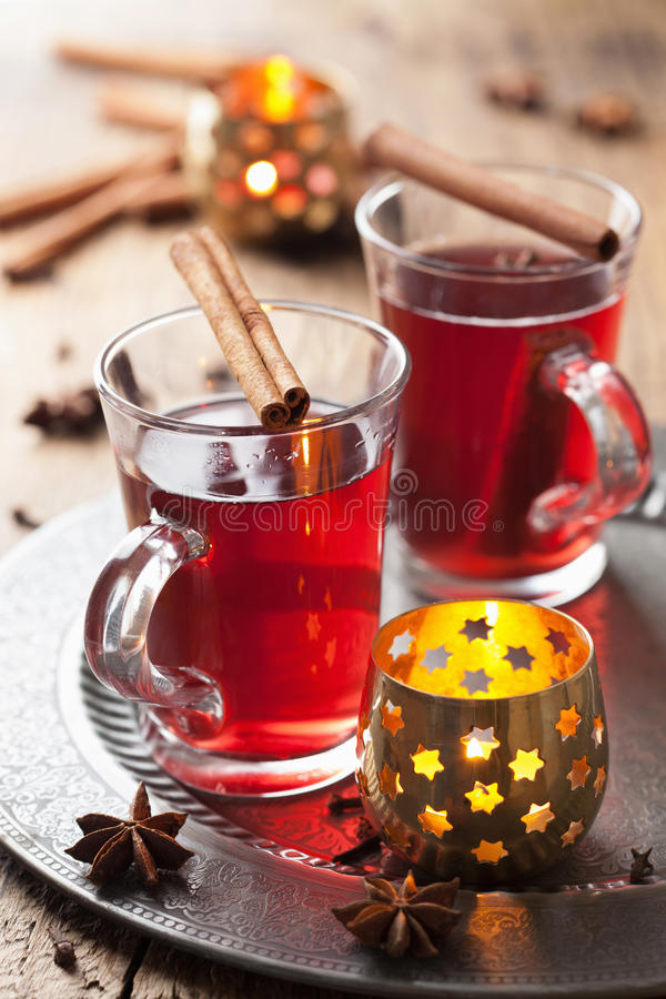 Download Glass of mulled wine stock image. Image of natural, bright - 34415405