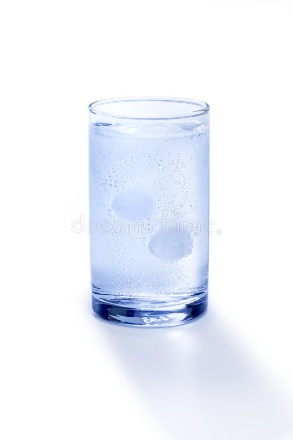 Free Glass Of Antacid Dissolving Stock Photography - 8039992