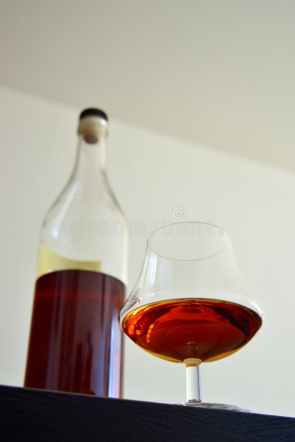 Free Glass Of Armagnac Royalty Free Stock Photography - 31106427