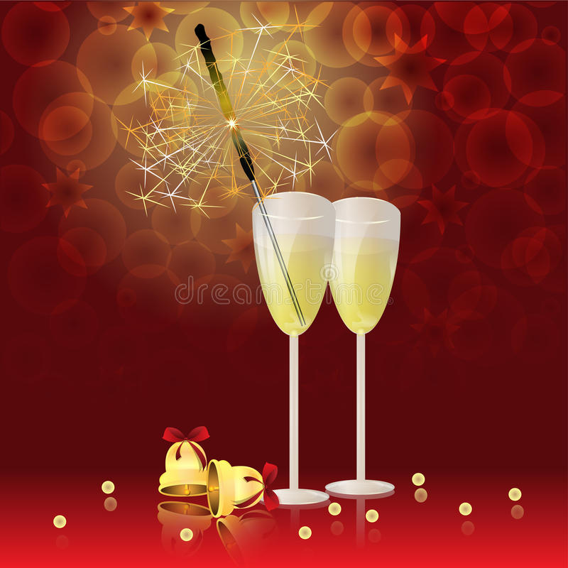 Free Glass Of Champain Stock Image - 27636431