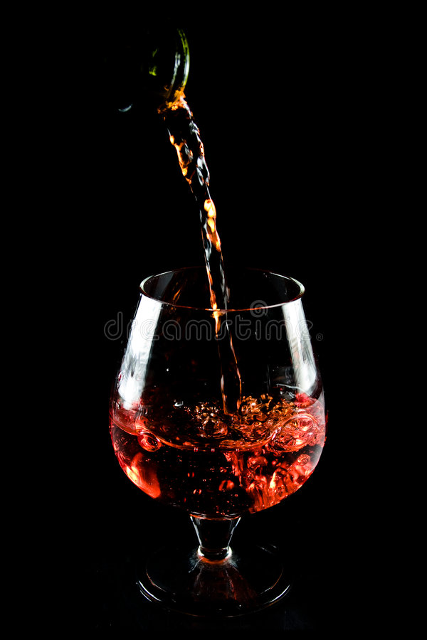 Free Glass Of Cognac Stock Photography - 7924392