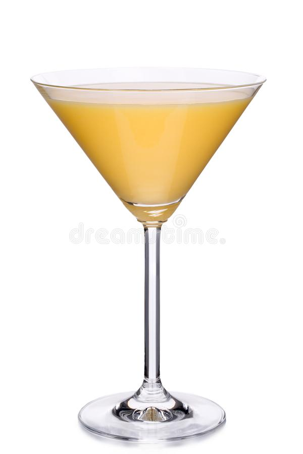 Free Glass Of Egg Liqueur Isolated On White Stock Images - 104239494