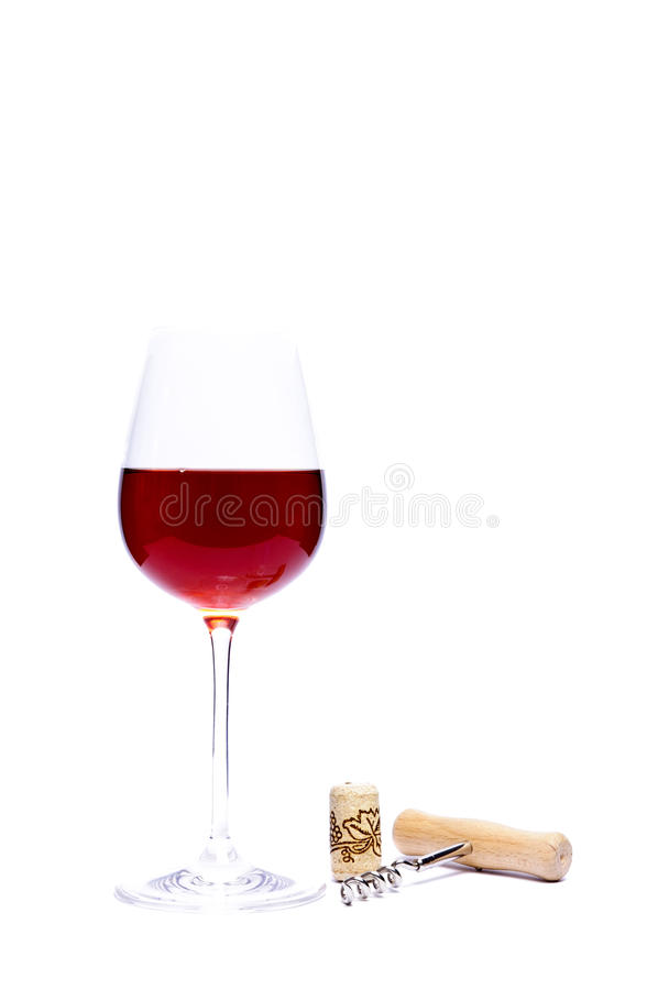 Free Glass Of Red Wine Royalty Free Stock Photo - 17035265