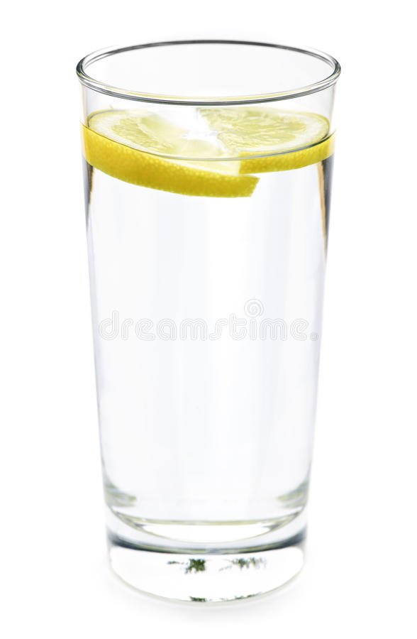 Free Glass Of Water With Lemon Stock Images - 14766044