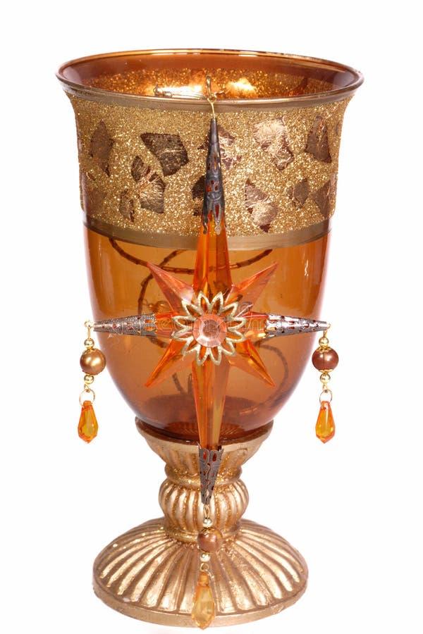 glass orange royaltyfria foton