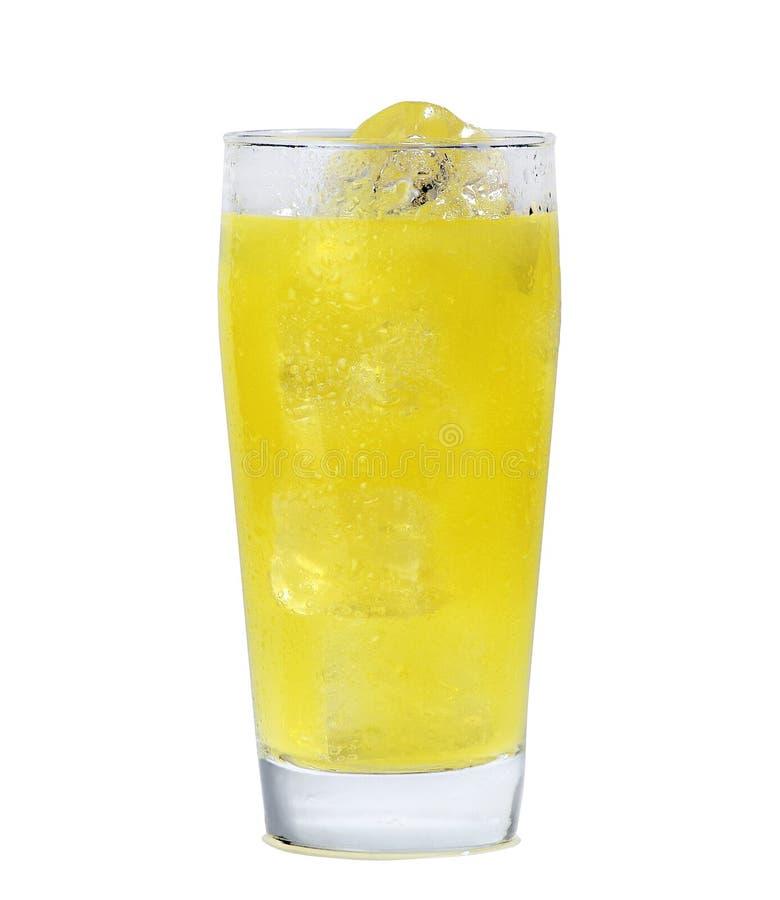 Glass of orange juice royalty free stock images