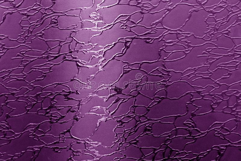 Glass with pattern in purple tone. Abstract background and texture for design mosaic  crystal wallpaper textured black white poly patterns embossment broken royalty free illustration