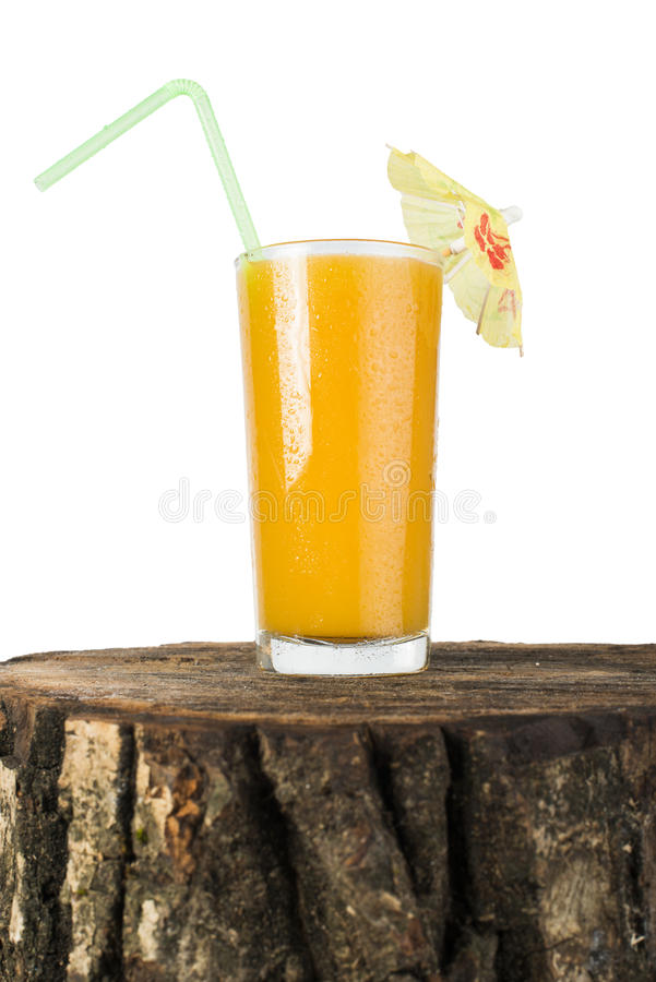 Download Glass with Peaches juice. stock image. Image of juicy - 33629703