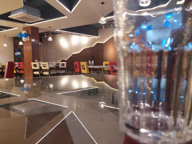 Glass photography , restaurant , dinner , food royalty free stock photography