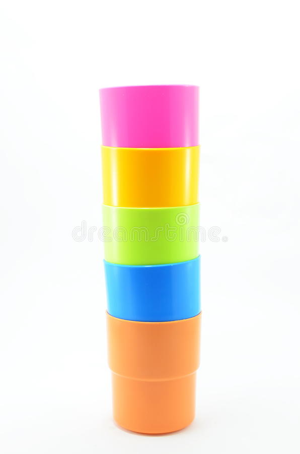 Download Glass, Plastic, Assorted Colors. Stock Photo - Image: 33557864