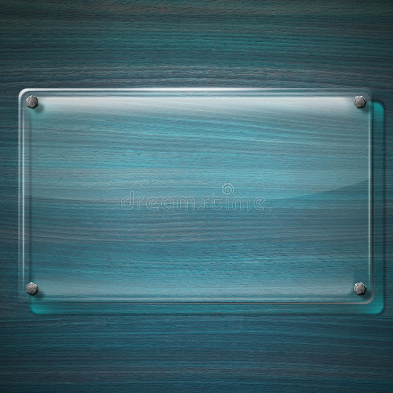 Download Glass Plate On Turquoise Wood Background Stock Illustration - Illustration of grungy, green: 32388817