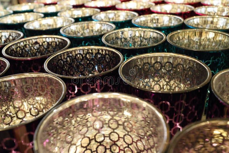 Glass Pots Stock Image