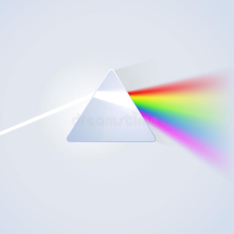 Free Glass Prism On Light Background Royalty Free Stock Photo - 49562265