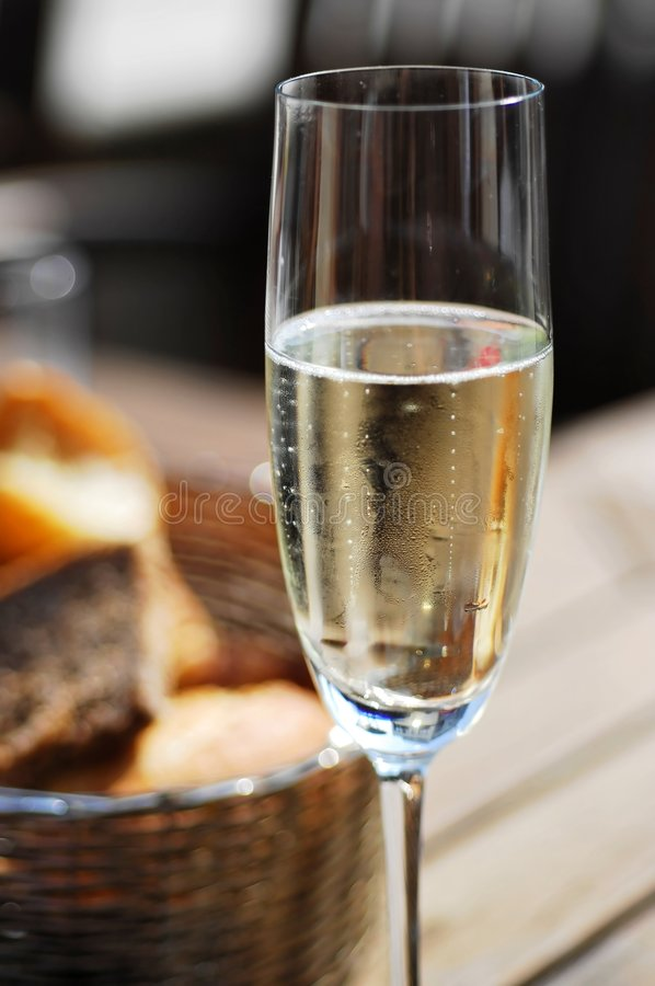 Glass Of Prosecco stock photography
