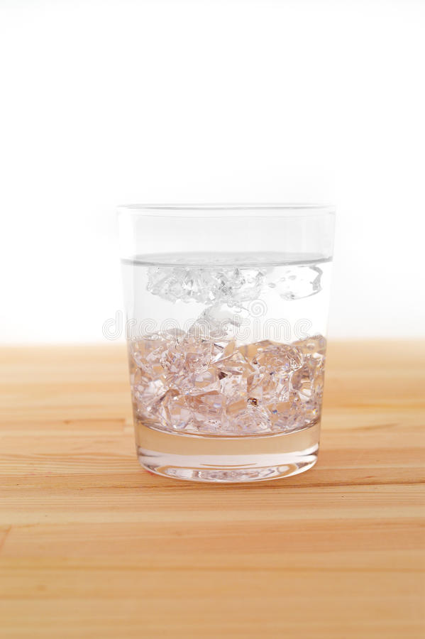 Download Glass of pure ice water stock image. Image of beverage - 25689993