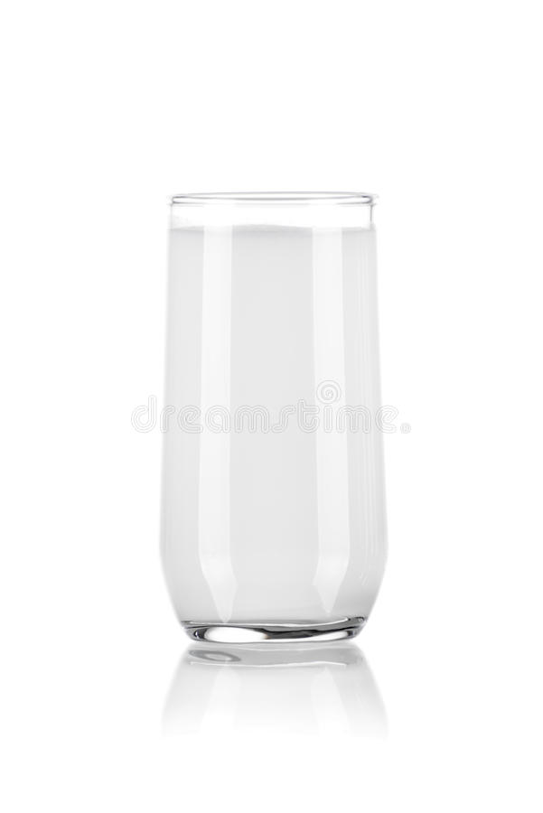 Glass of Pure Milk royalty free stock photography