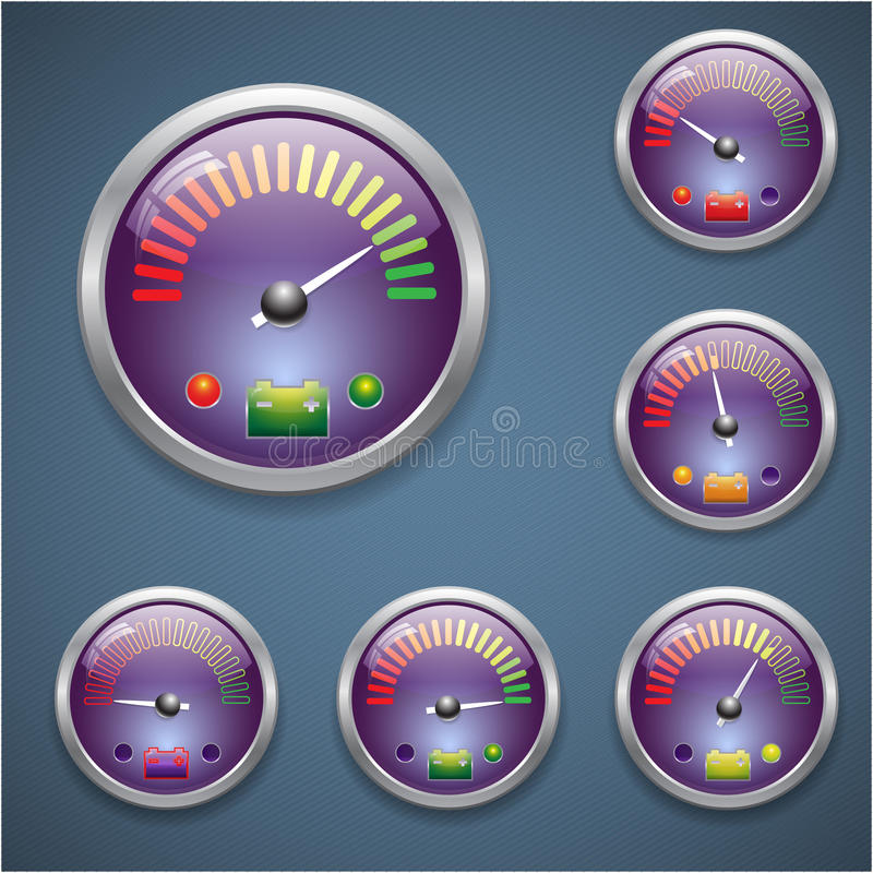 Download Glass realistic sensor stock vector. Image of black, engine - 32005603