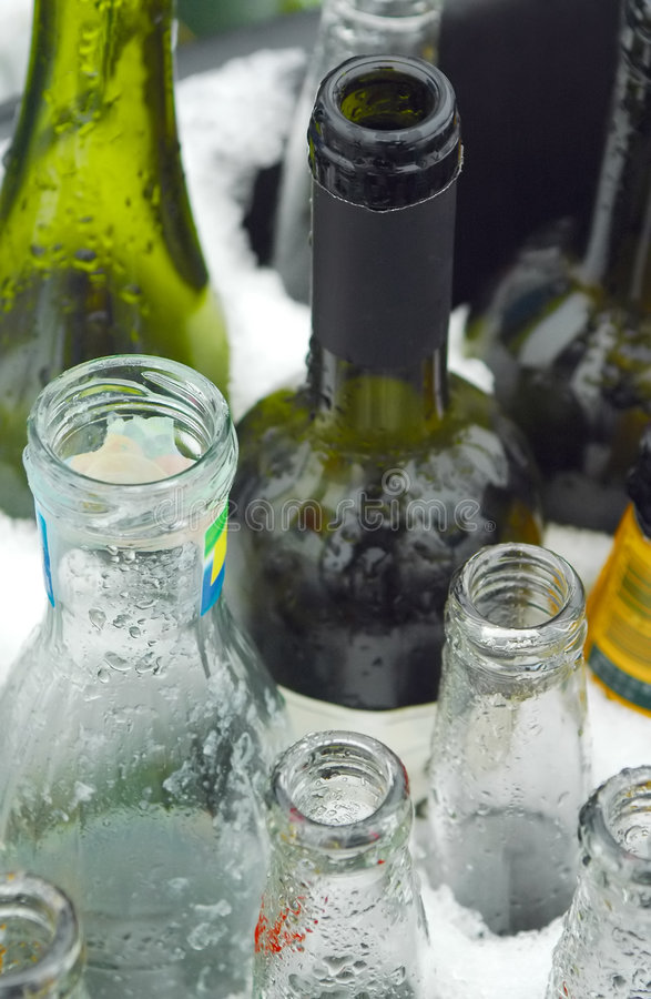 Download Glass recycling stock photo. Image of trash, wine, empty - 8096392