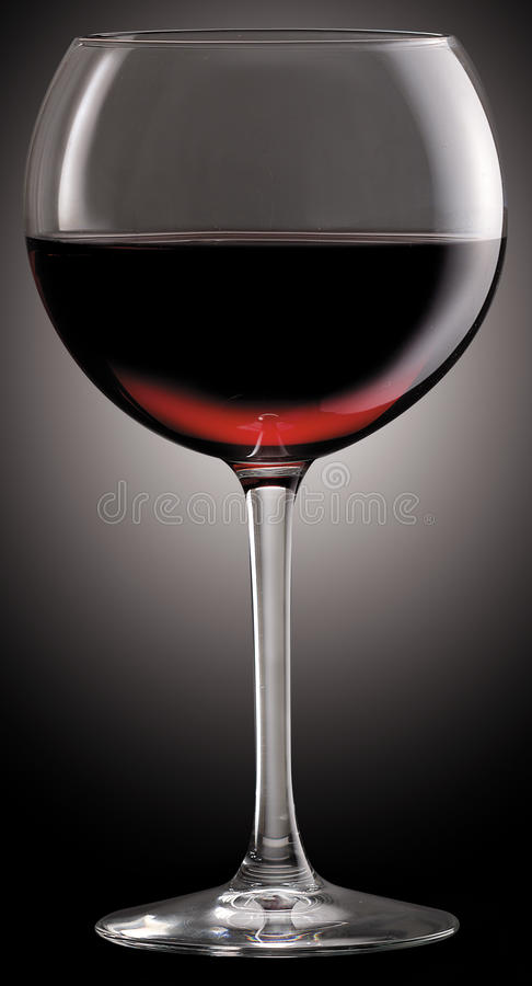 Download Glass of red wine stock photo. Image of beverage, alcohol - 14332700