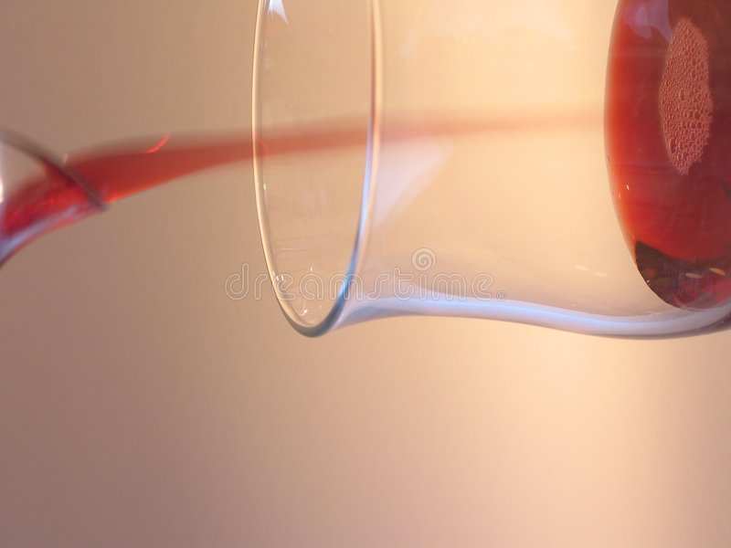 Download Glass with red wine stock photo. Image of macro, casting - 15648