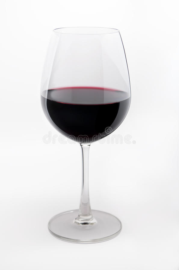 Download Glass of red wine. stock image. Image of wineglass, simplicity - 17522215
