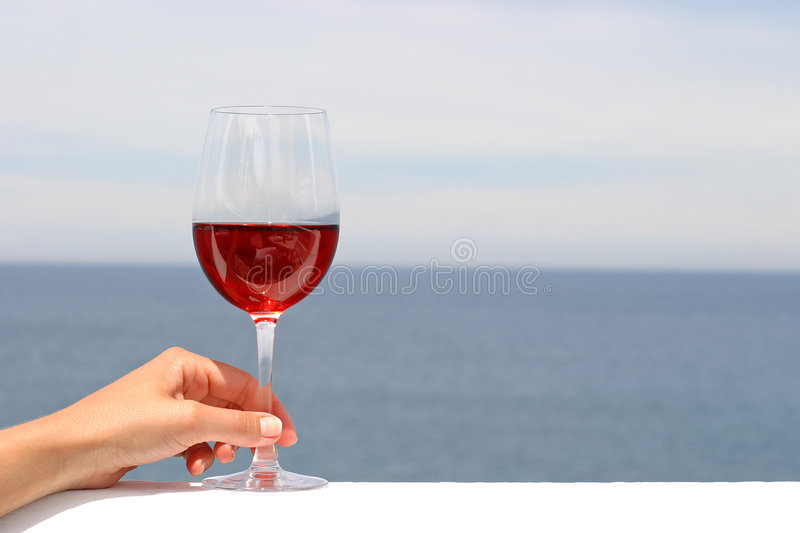 Download Glass of red wine stock photo. Image of beverage, wine - 2479334
