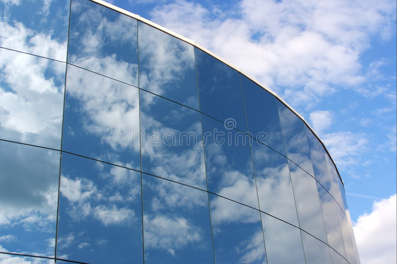 Glass reflection royalty free stock image