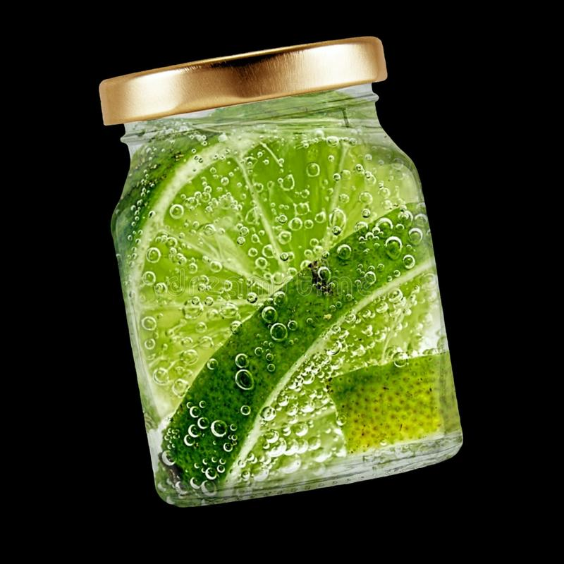 Glass, Refreshment, Lime, Bubble Free Public Domain Cc0 Image