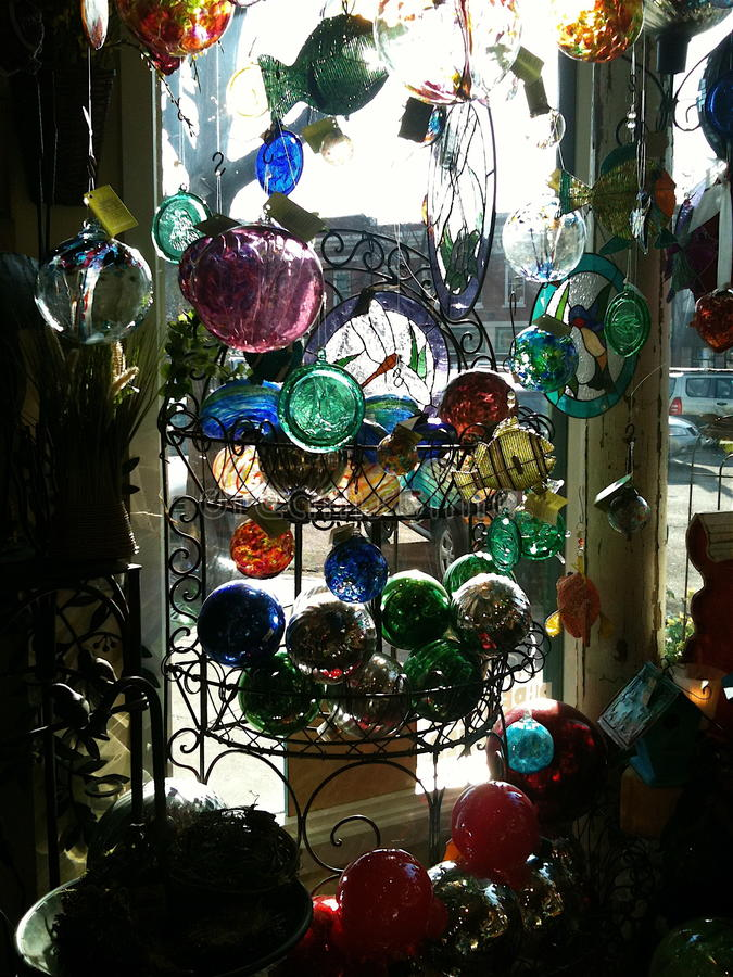 Glass regnbåge royaltyfri bild