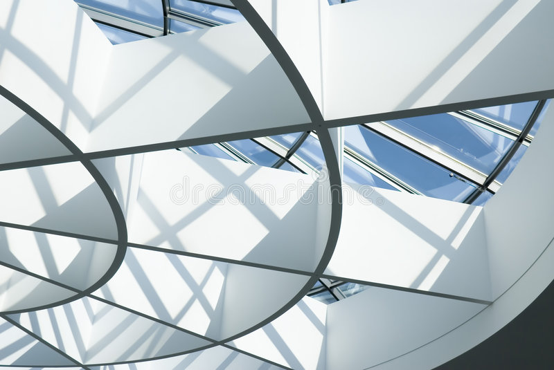 Glass roof royalty free stock photography