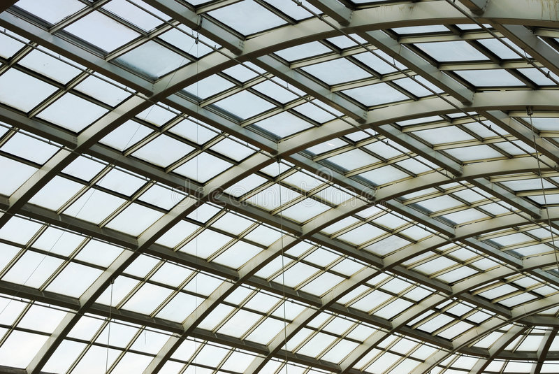 Download Glass Roof Structure In West Edmonton Mall Stock Photo - Image: 4838858