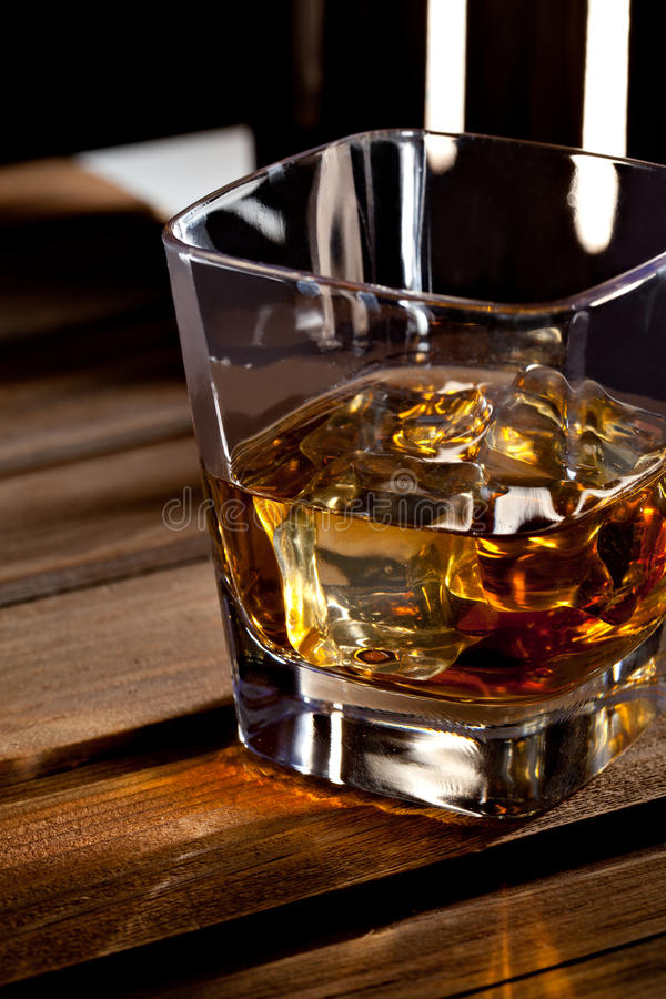 Download Glass of scotch whiskey stock image. Image of whisky - 24010435