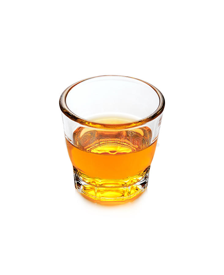 Glass of scotch whiskey royalty free stock photos