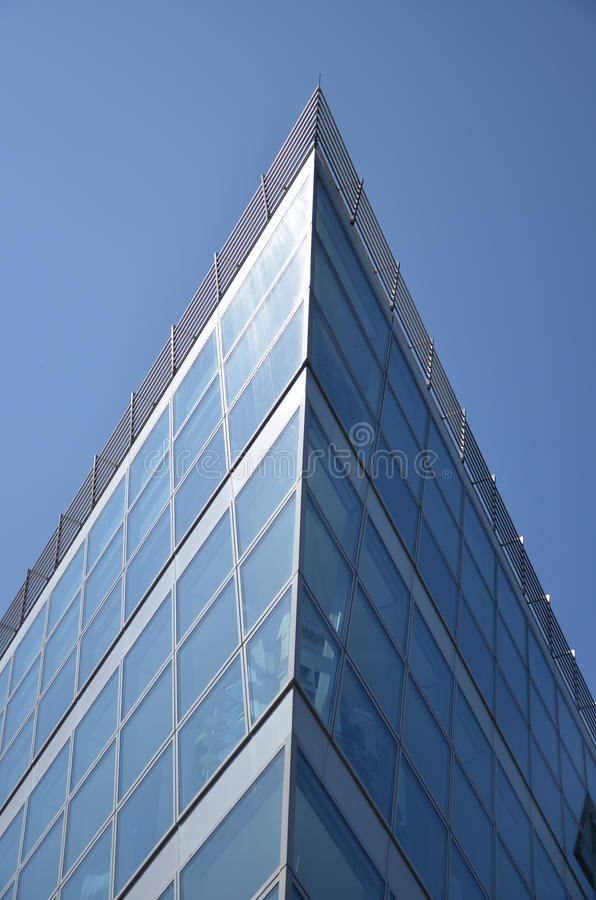 Glass Ship Building stock photos