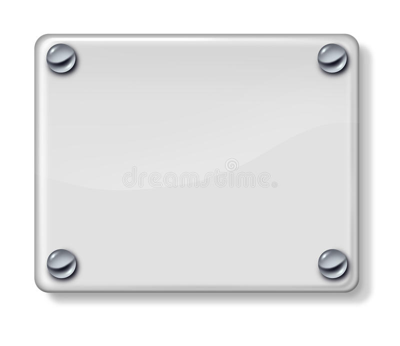 Download Glass Sign stock illustration. Illustration of icon, glass - 25162918