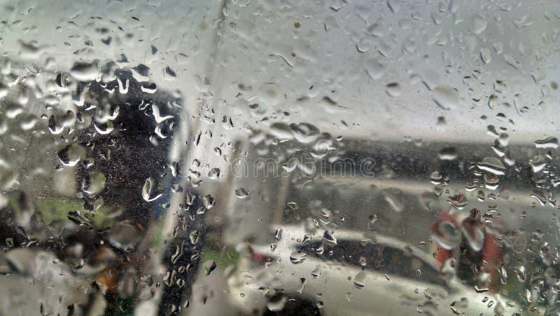 Glass sikt för vattendroppe arkivfoto