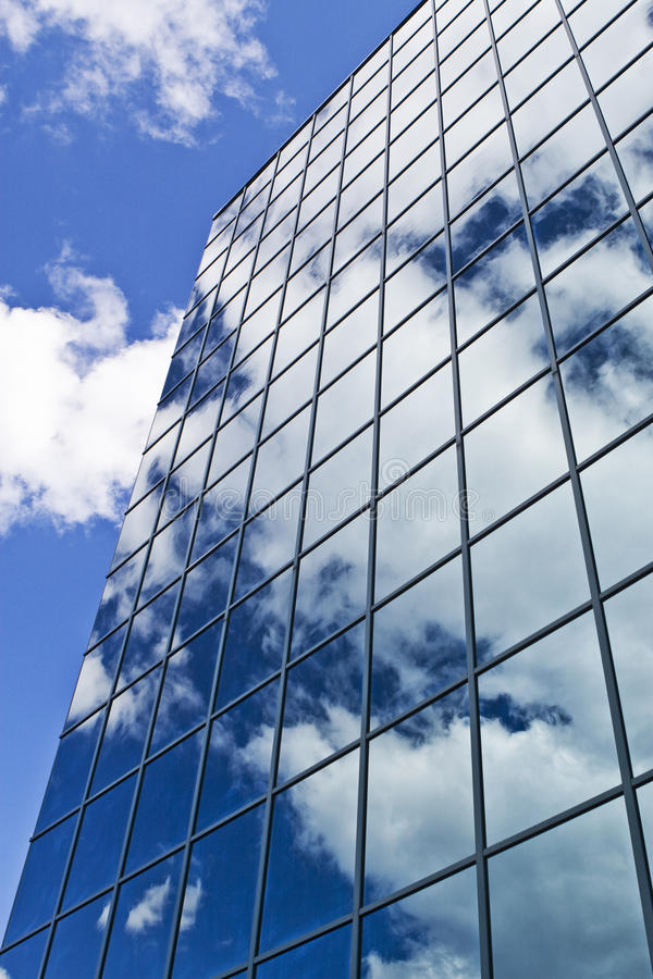 Glass Skyscraper Building royalty free stock photography