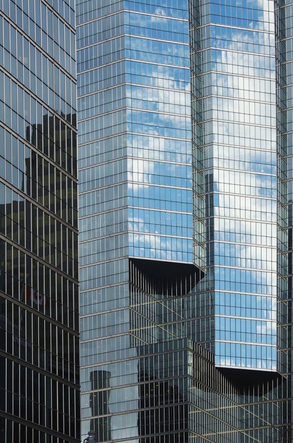 Glass skyskrapa i Toronto arkivfoton