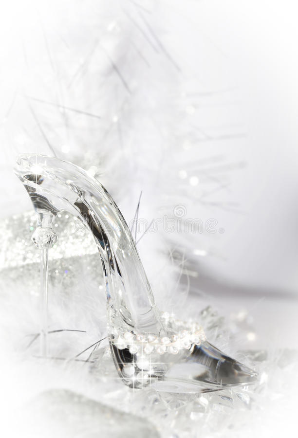 Free Glass Slipper Shoe Stock Images - 37065844