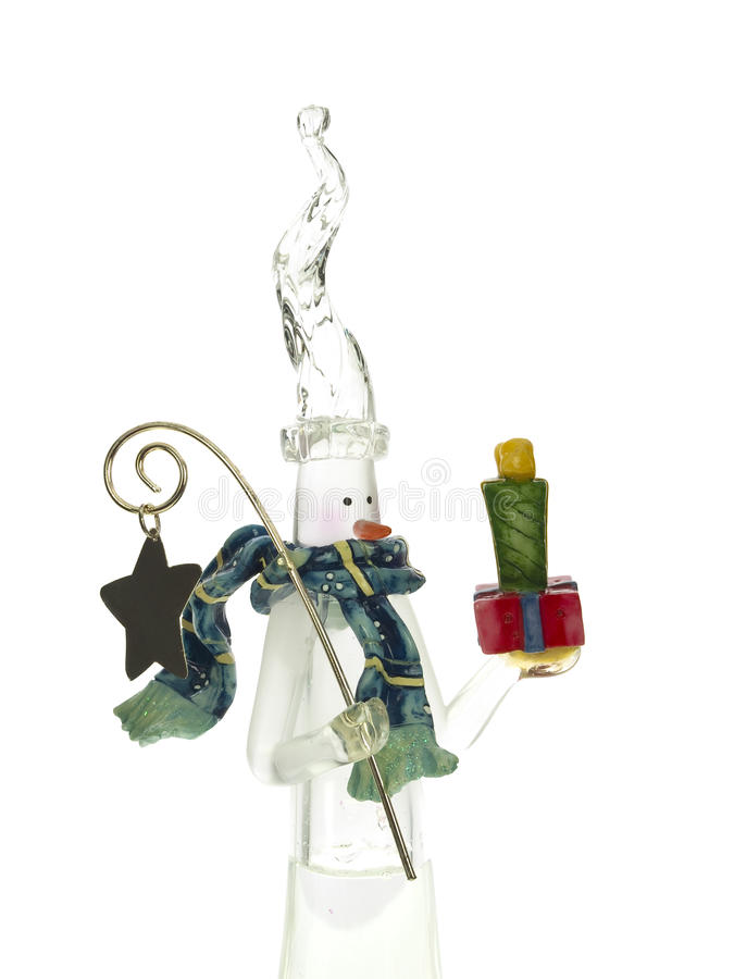 Free Glass Snowman Royalty Free Stock Images - 11300359