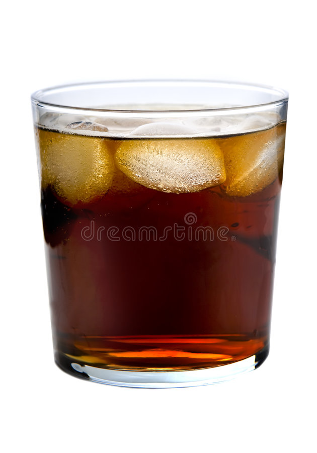 Glass of Soda royalty free stock photography