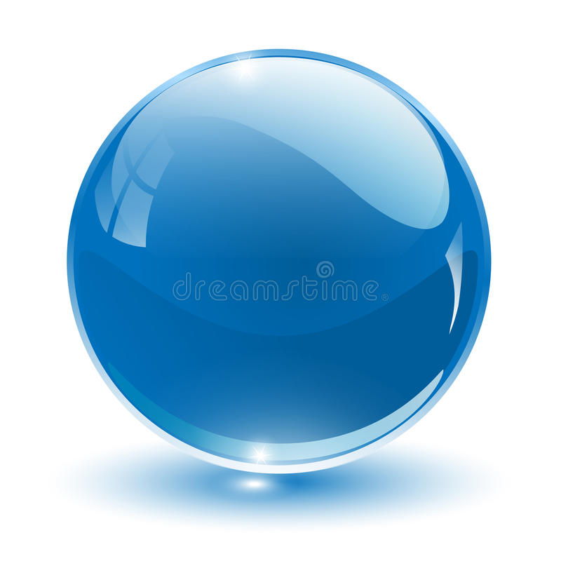 Free Glass Sphere Vector Stock Photo - 13215730