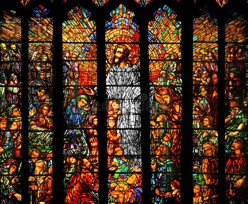 glass stained royaltyfri fotografi