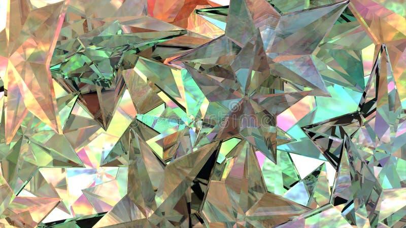 Glass Stars royalty free stock image