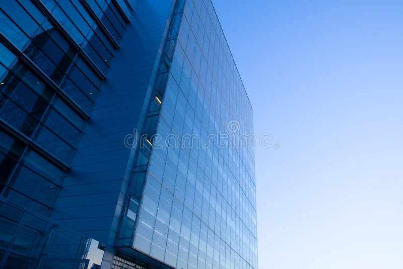 Glass and Steel royalty free stock photo